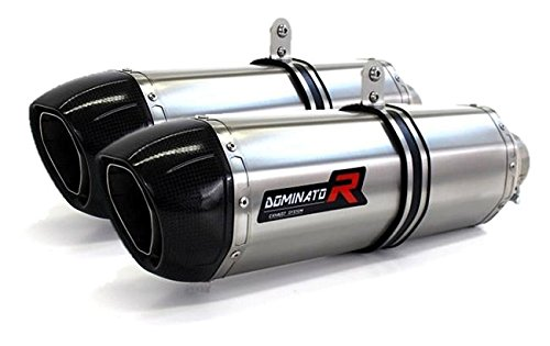 Dominator Exhaust Silencieux échappement TRIUMPH SPEED TRIPLE 1050 i.e 05-07 + DB KILLER (HP1)