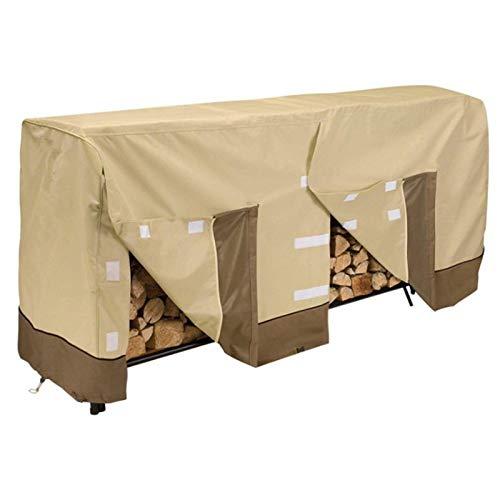 SDSA Möbelabdeckung,Holzregalabdeckung, wasserdichte Winddichte Abdeckung Aus Brennholz Im Freien, Material: 210DOxford-Stoff