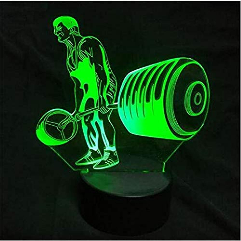 Led Lights Edison Lights 3D Nachtlicht 7 Farbwechsel Acryl Usb Visuelle Schreibtischlampe