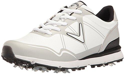 Callaway Women's Halo Golf Shoe, White, 10 B US