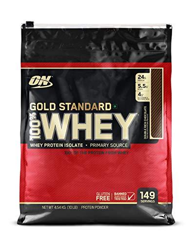 Optimum Nutrition (ON) Gold Standard 100% Whey Protein Powder - 5...