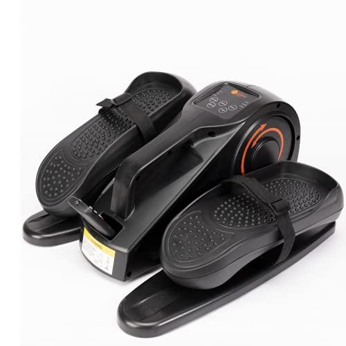 Pedalier eléctrico, Mini Elíptica, pedaleador elíptico portátil, pantalla Led, mando a distancia Pedalera elíptica portátil para realizar gimnasia pasiva o activa.