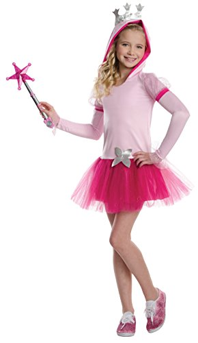 Rubies Wizard of Oz Glinda The Good Witch Hoodie Dress Costume, Child Small
