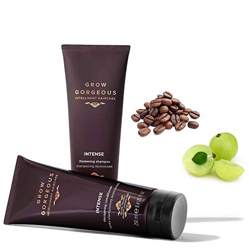 Grow Gorgeous Intense Duo Shampoo And Conditioner Set For Thicker And Healthy Hair