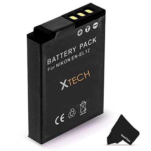 EN-EL12 / ENEL12 Battery for Nikon Coolpix A900 AW100 AW110 AW120 AW130 S9900 S9700 S9500 S9300 S9200 S9100 S8200 S8100 S6300 P330 AW300