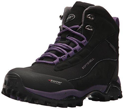 Baffin Women's Hike Hiking Boot,Black/Plum,9 M US