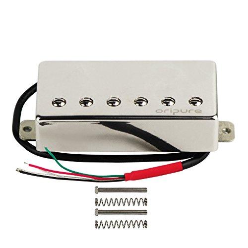 OriPure Pastillas de puente de guitarra de tamaño Humbucker magnético Alnico 5...