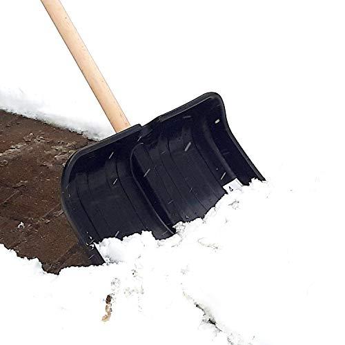 Schneeschaufel, Schneeschieber Lawinenschaufel Schaufel mit Stahlkante