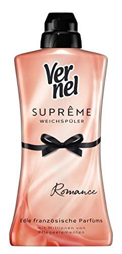 Vernel Weichspüler Suprême Romance Rosa (48 (1 x 48) Waschladungen)