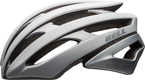BELL Stratus Rennrad Fahrrad Helm silberfarben 2017: Größe: L (58-62cm)