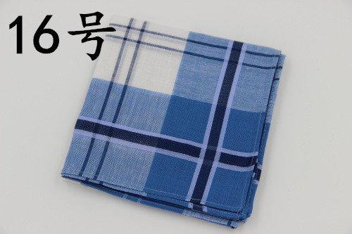 Classique Plaid pour homme Mouchoirs 43*43 cm/100% coton