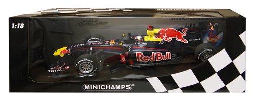 Minichamps 110100205 - Red Bull Racing Renault RB6 - Sebastian Vettel, Maßstab: 1:18