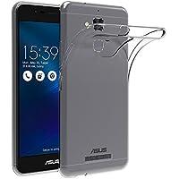 "AICEK Funda ASUS ZenFone 3 MAX ZC520TL, ASUS ZenFone 3 MAX Funda Transparente Gel Silicona ASUS ZenFone 3 MAX Premium Carcasa para ZenFone 3 MAX 5.2"""