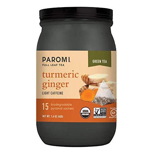 Paromi Té hoja completa verde delicioso caliente