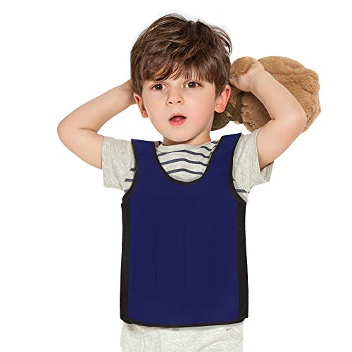 Galagee Sensory Compression Vest for Children- Weighted Vest for Kids with Sensory Issues,Autism, ADD, ADHD, Ages 5-9 (Middle)
