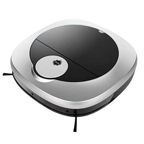 Klinsmann KRV 309 Robotic Vacuum Cleaner with Auto Cleaning, Dry and Wet Mopping, Water Tank and Remote Control for Hardwood Floor, Short-haired Carpet