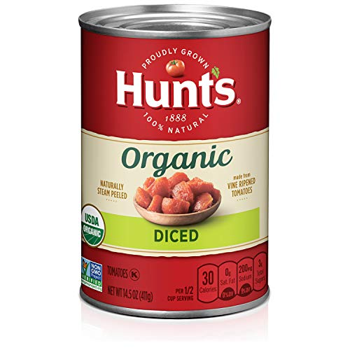 12-Pack 14.5-Oz Hunt's Organic Diced Tomatoes $9.86 ($0.82 each) + Free Shipping w/ Prime or on orders over $25