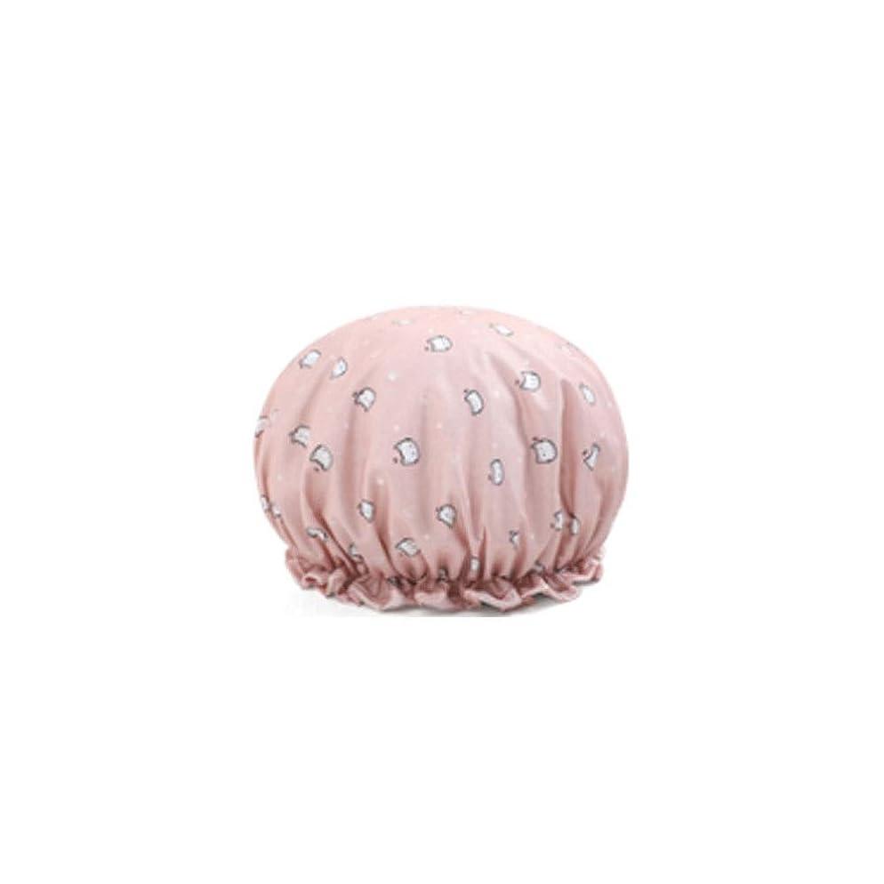 患者安らぎ加速するシャワーキャップ、レディースシャワーキャップレディース用のすべての髪の長さと太さのデラックスシャワーキャップ - 防水とカビ防止、再利用可能なシャワーキャップ。 (Color : 13)