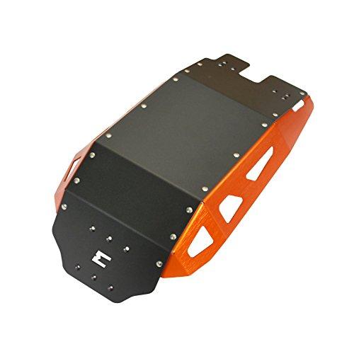 MyTech - Zweifarbiger Motorschutz in Orange und Schwarz für - 1290 Superadventure - 1190 Adventure - 1090/1050 Adventure