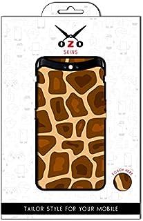 لاصقة حماية من اوزو بشكل جلد الزرافة لموبايل OPPO A54