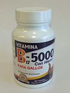 B12-5000 with Iron for Roosters