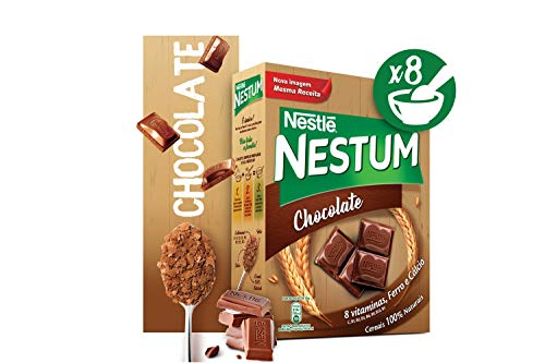 Getreideflocken mit Schokolade, NESTLÉ, Herkunftsland Portugal, Box 250g - Flocos de Cereais NESTUM Chocolate 250g
