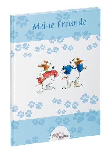 Pagna 20515-15 Buch - Meine Freunde Mick und Muck Motiv Schwimmspaß, 14.5 x 22 cm, 60 Seiten