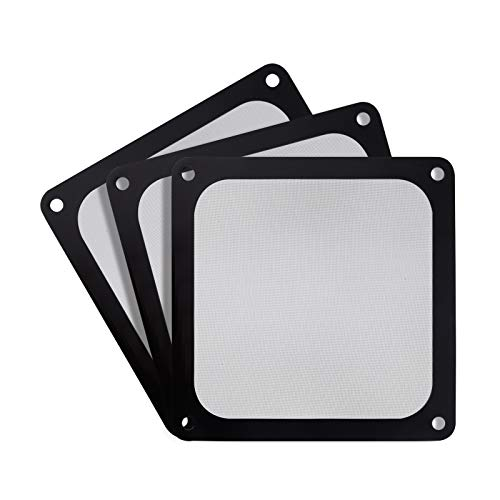 SilverStone Technology SST-FF123B-3PK 120mm Ultra Fine Fan Filter with Magnet Cooling