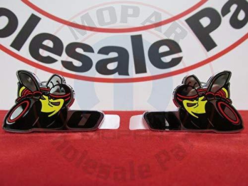 DODGE CHARGER CHALLENGER Set Of Two Stage 1 Scat Pack Super Bee Emblems MOPAR
