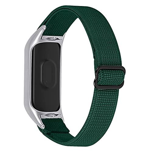 GhrKwiew Mi 6 Elastic Soft Band, Soft Nylon Sport Watch Band Reemplazo Delgado Pulsera elástica Elástica Solo Loop Accesorios de Pulsera para Xiaomi Mi Band 5/ Mi Band 6 (L01)