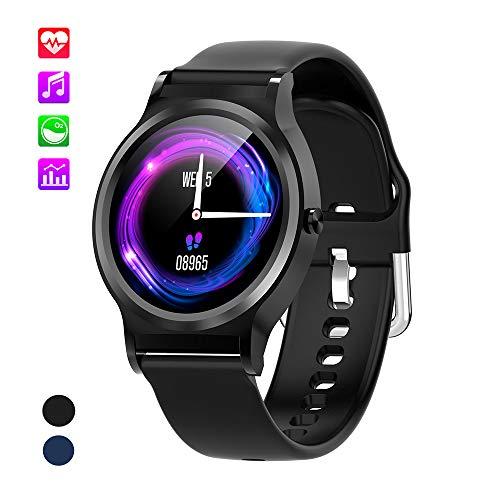 Best-ycldcyp Original Projection Digital Weather LCD Snooze Alarm Clock Color Display W//LED Backlight Color : Black
