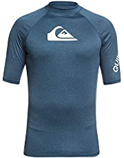 Quiksilver Men All Time Short Sleeve Upf 50 Rash Vest