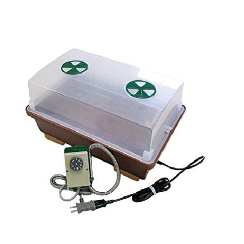 昭和精機 家庭用発芽育苗器:菜蒔期(さいじき)サーモセット[加温用] PG-21Z