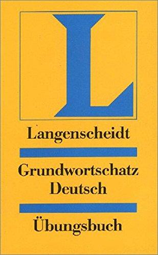 Langenscheidt Grundwortschatz Deutsch libro ejercicios