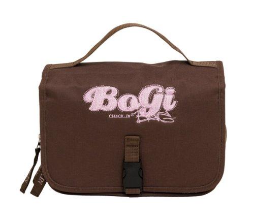 BoGi Bag Girl Beauty-Case Kulturtasche Kosmetiktasche Braun/rosa