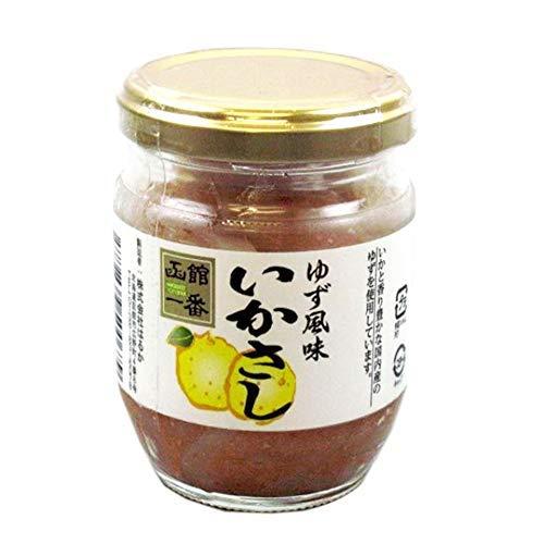 ゆず風味いかさし 150g×10瓶 国産するめ 柚子の香り 風味良く 生臭みの無い逸品