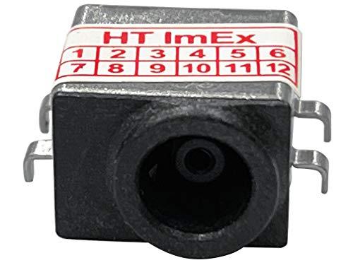 HT ImEx - Conector de alimentación hembra de alimentación DC Jack compatible con Samsung NP-RV510, NP-SF510, QX410, QX412, R480, R525, R528, R530, R538, NP-R480, NP-R525.