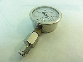 Baumer MIT3 Pressure Gauge, -1-0BAR, 63mm Size