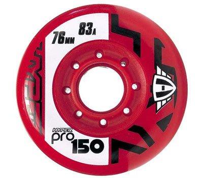 Hyper PRO 150 Inlinerolle 83A 76mm rot 4 Stück