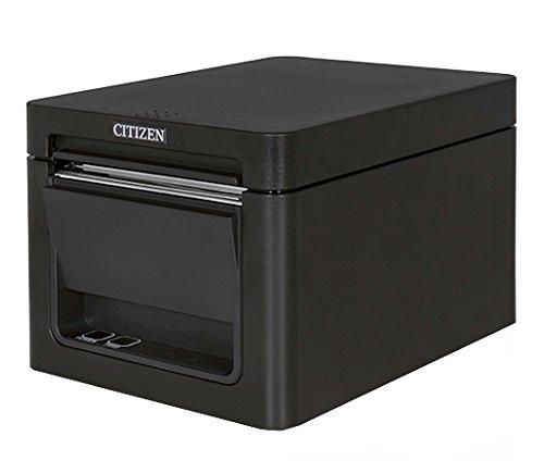 Citizen Kassendrucker CT-E351 POS, 203 x 203 DPI, 250 mm/Sek, schwarz, 58, 80, mit Kabel