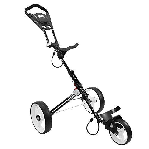 Izzo Rover II Golf Push Cart White