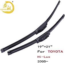 Wipers Easysee Wiper blades for BoneLess winter Rubber windscreen windshield wiper Car accessory TOYOTA Hi-Lux (2005-),19