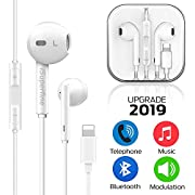 iSuperfine Earbuds Headset Wired Earphones Headphone with Microphone and Volume Control, Compatible with iPhone 11/11Pro/11Pro Max/Xs/XS Max/XR/X/8/8 Plus/7 and iOS 10/11/12
