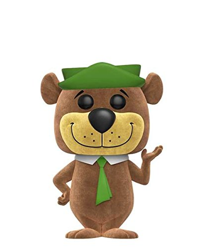 Funko Pop! Animation – Yogi Bear – Flocked #187 - Figuras de vinilo de 10 cm