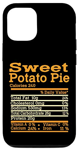 iPhone 12/12 Pro Sweet Potato Nutrition Fact for Thanksgiving meme to Family Case