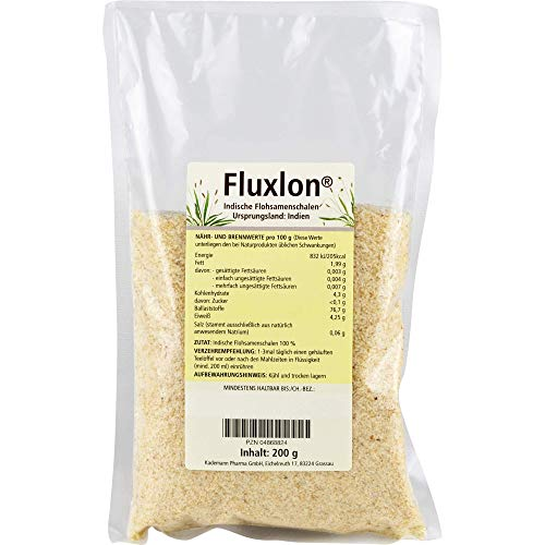 Fluxlon Indische Flohsamenschalen, 200 g Pulver