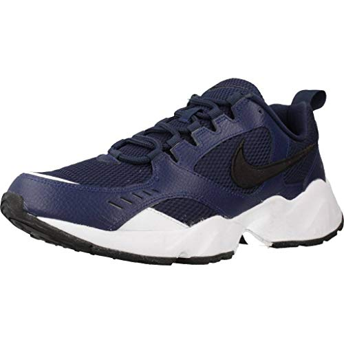 Nike Air Heights, Scarpe da Trail Running Uomo, Multicolore (Midnight Navy/Black/White 400), 41 EU
