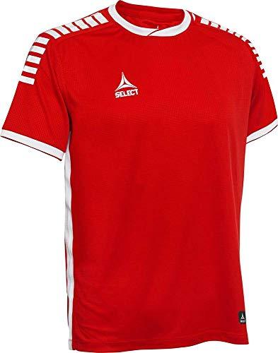 Select Monaco Trikot Kurzarm rot-weiß rot/weiß, XXL