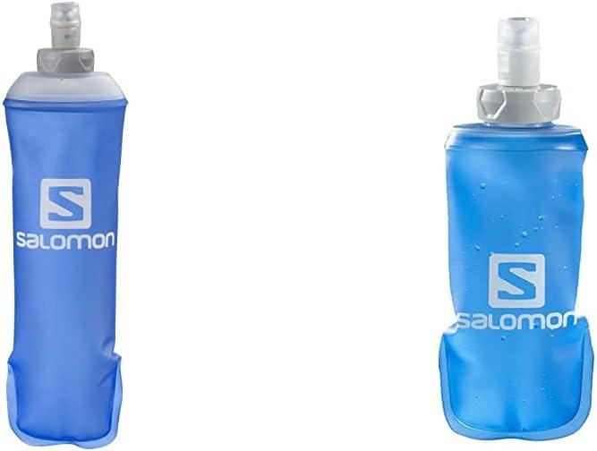 Salomon Soft Flask Bidón Flexible 500ML Trail Running Senderismo + Soft Flask Bidón Flexible 150ML Trail Running Senderismo