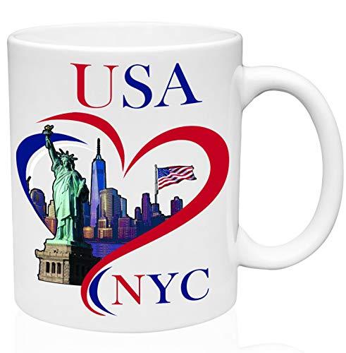 NYC New York City USA Souvenire Gift 11oz cerámica alta calidad taza de café